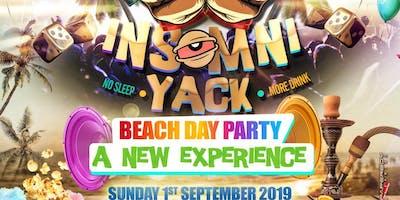 InsomniYack - Beach Themed Day Party