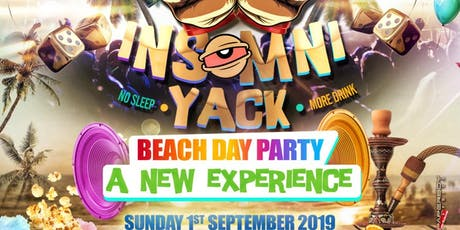 InsomniYack - Beach Themed Day Party tickets