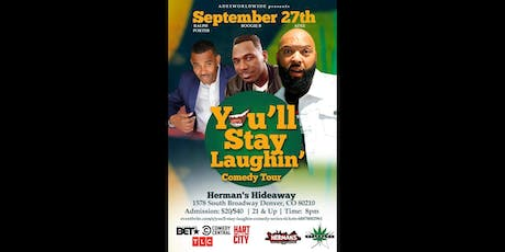 You'll Stay Laughin' Comedy Series tickets