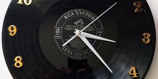 Vinyl Record Clock Workshop