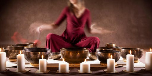 Himalayan Singing Bowls and ethnic instruments relaxation concert