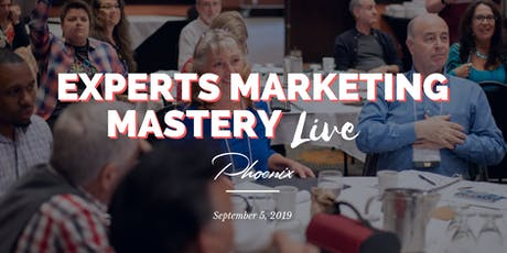 Experts Marketing Mastery Live tickets