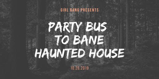 Haunted Party Bus