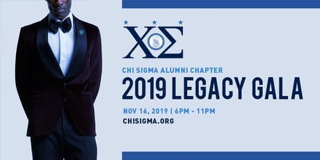 Copy of Chi Sigma, Northern NJ Graduate Chapter of Phi Beta Sigma Legacy Gala 2019 tickets