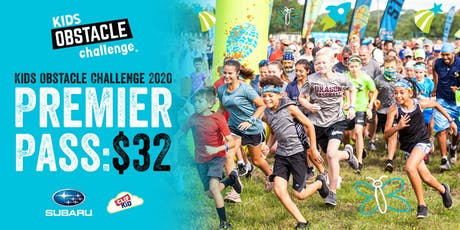 Kids Obstacle Challenge 2020 - Premier Pass tickets
