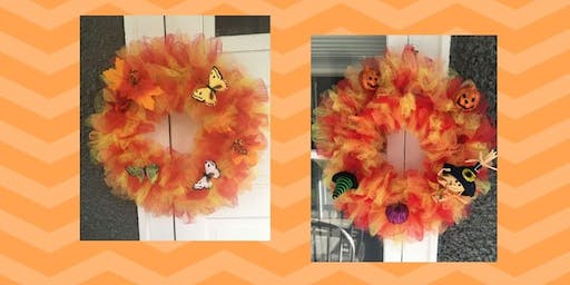 Fall wreath worksop