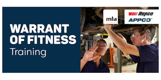 MTA WoF Technical Update Course — Papakura