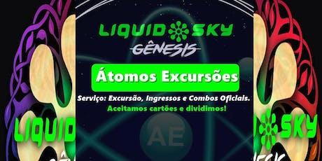 Liquid Sky Genesis Pipa 2019 : Excursão Oficial (Átomos) bilhetes