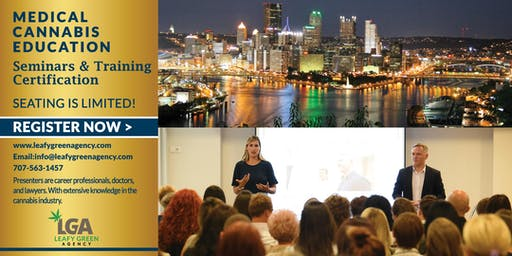 Breaking into Medical Marijuana Industry for Entrepreneurs and Employee Training Pittsburgh, PA