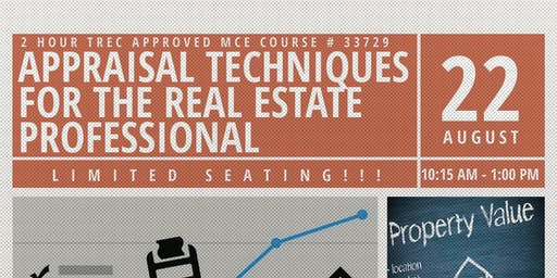 Appraisal Techniques for the Real Estate Professional