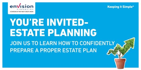 Envision Financial Estate Planning 101 tickets