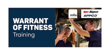 MTA WoF Technical Update Course — Morrinsville tickets