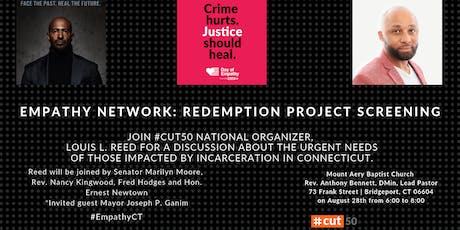 Empathy Tour: Redemption Project Screening – Bridgeport, CT tickets