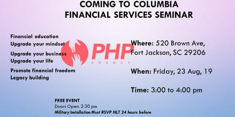 PHP Agency Financial Services Seminar tickets