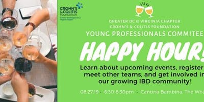 Crohn's & Colitis Young Professionals Committee Happy Hour