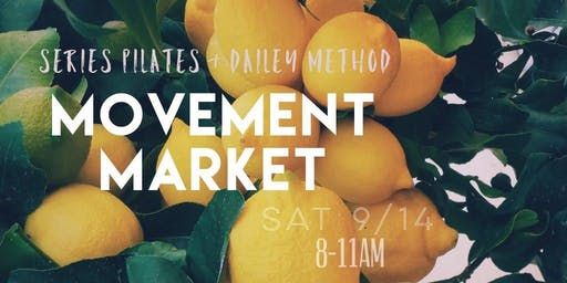 MOVEMENT MARKET Pilates & Barre