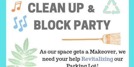 Creative Suitland Presents: CLEAN UP & BLOCK PARTY tickets