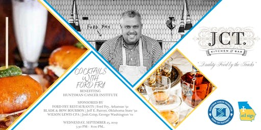 2nd Annual - ATL Sigs Cocktails with Brother Chef Ford Fry