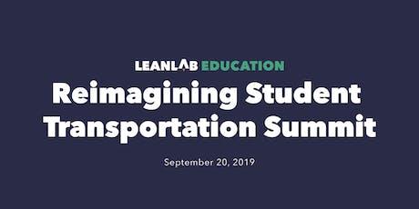 LEANLAB - Reimagining Student Transportation Summit tickets