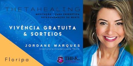 VIVÊNCIA GRATUITA THETAHEALING  - FLORIPA CENTRO - Outubro ingressos