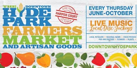 Hyde Park, Beverly, & Garfield Park Farmers Markets tickets