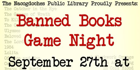 Banned Books Week Game Night tickets