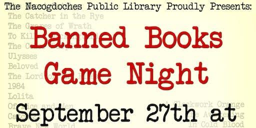 Banned Books Week Game Night