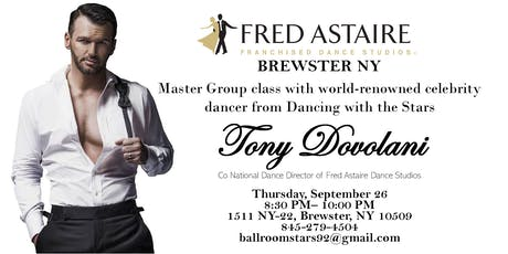 Master Class with Tony Dovolani tickets
