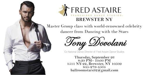 Master Class with Tony Dovolani