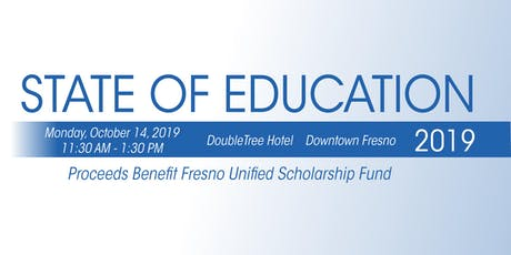 2019 State of Education Luncheon tickets