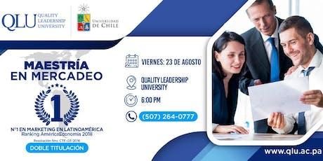 Reunión Informativa - Maestría en Mercadeo #1 en Latinoamérica, ofrecida en Panamá tickets