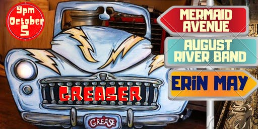 Erin May w/ August River Band & Mermaid Avenue | Greaser