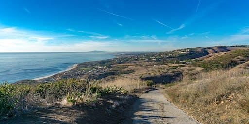 Girl Get Outside: Sunset Hike + Ocean Swim   Crystal Cove Newport Beach