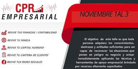 CPR Empresarial (Construye, Persiste, Revive) entradas