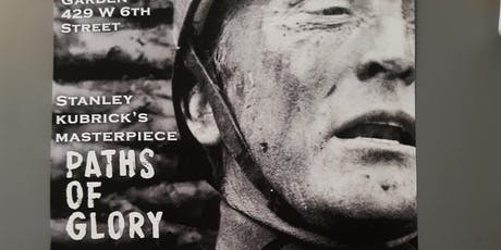 Screening of Paths of Glory tickets