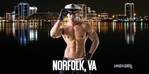 Male Strippers UNLEASHED Male Revue Norfolk, VA 8-10 PM