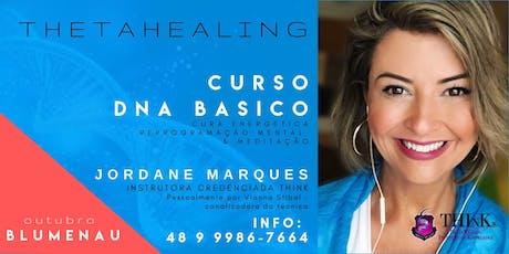 Curso  Thetahealing - DNA Básico - Blumenau - novembro  tickets