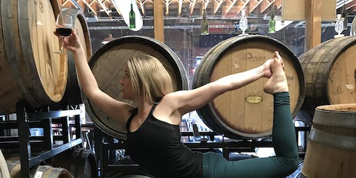 Day of the Downward Dog Haunted Wine and Yoga