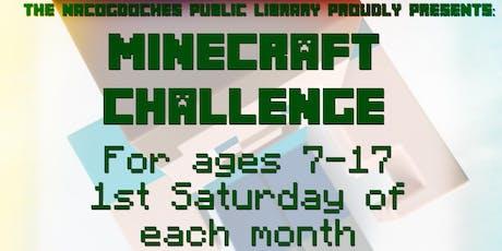 Minecraft Challenge! tickets