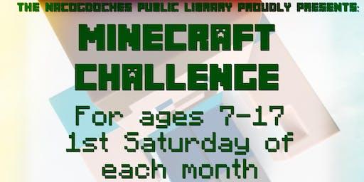 Minecraft Challenge!