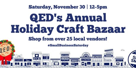 QED's Annual Holiday Craft Bazaar tickets