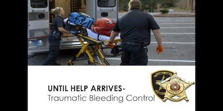Traumatic Bleeding Control tickets