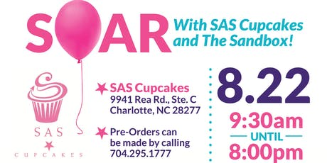 SOAR With SAS Cupcakes and The Sandbox tickets