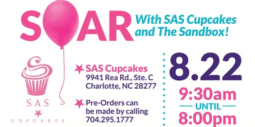 SOAR With SAS Cupcakes and The Sandbox
