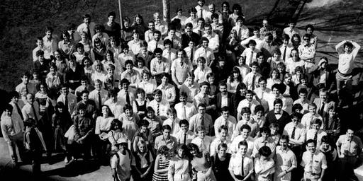 Monash Med 1979 entrants to 1984 grads reunion