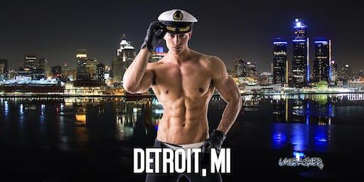 Male Strippers UNLEASHED Male Revue Detroit, MI 8-10 PM