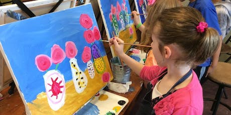 My Little Artist Program: KIDS ART CLASS @phiri / sep 1st tickets
