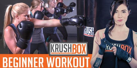 KrushBox Fitness Kickboxing Beginner Workout in Weston tickets