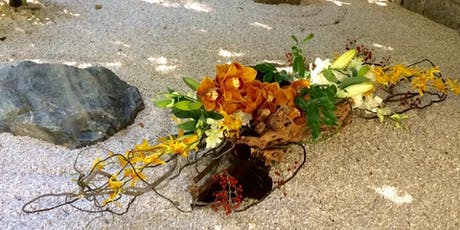 Ikebana table centre workshop tickets