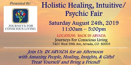J4CL Holistic Healing and Psychic Fair tickets